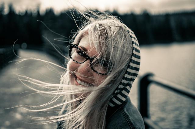 sorriso ragazza felicità fotografia